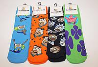 Чоловічі шкарпетки високі стрейчеві з принтом КАРДЕШЛЕР 36-40 асорті М-1