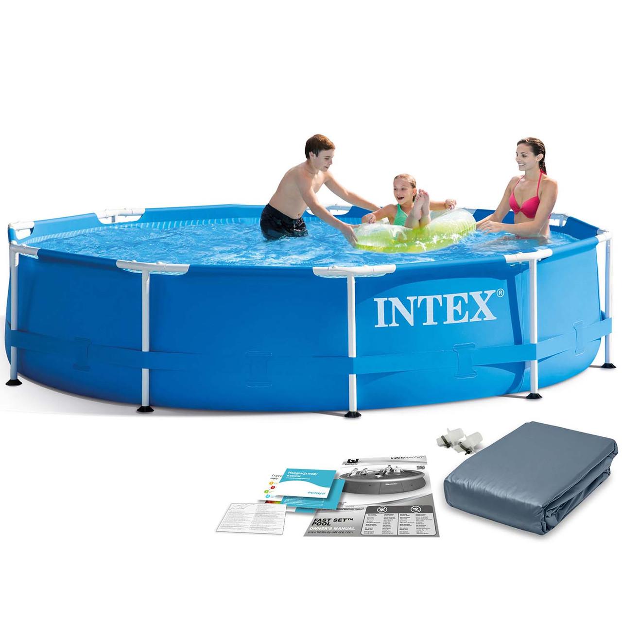Стоечный садовый бассейн 305 x 76 см 6in1 INTEX 28200