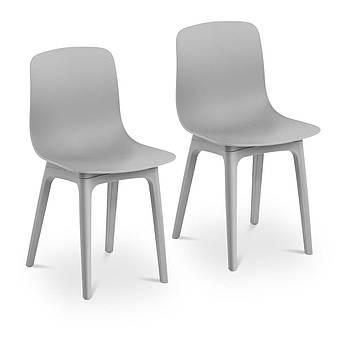 Стул - серый - до 150 кг - 2 шт. Fromm & Starck Марка Европы