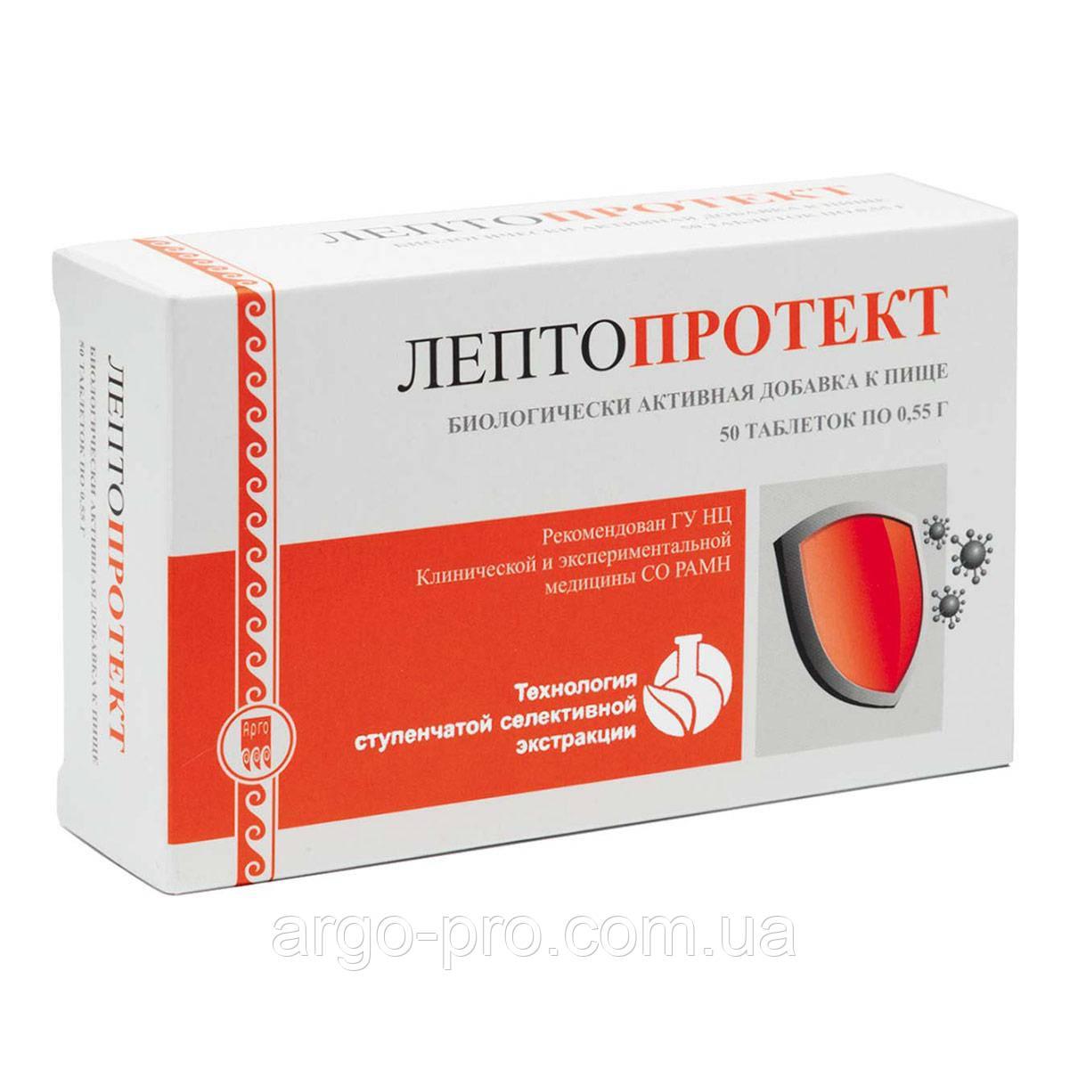 Лептопротект Арго (застуда, грип, бронхіт, віруси, тонзиліт, імуномодулятор, відхаркувальну)