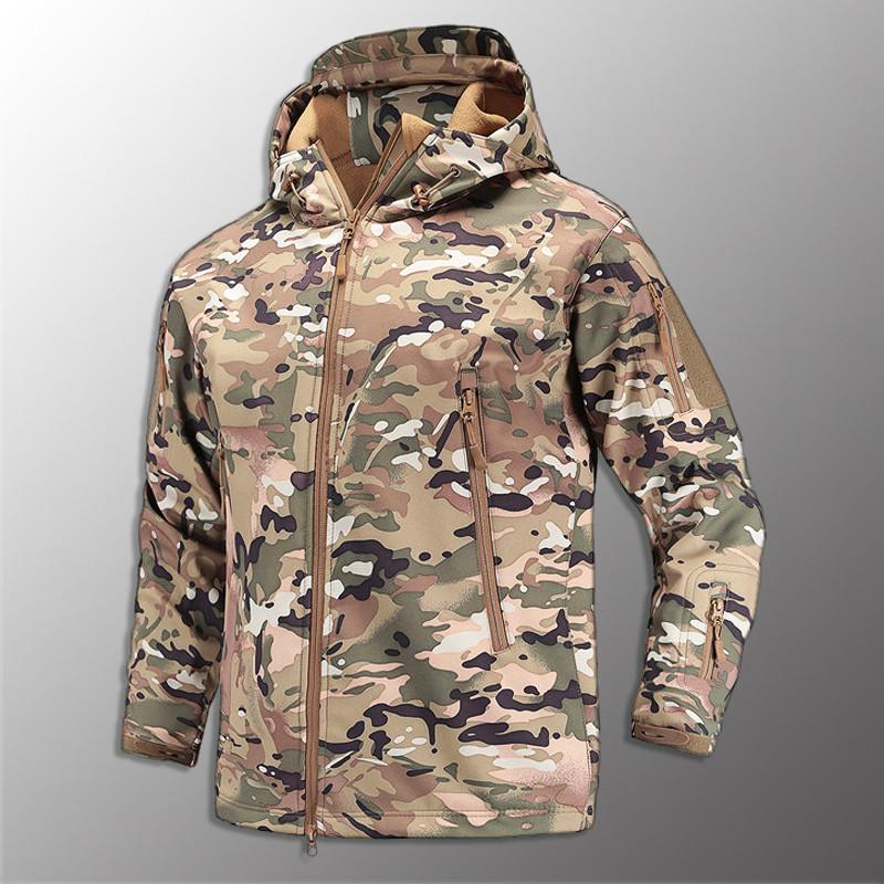 """🔥 Куртка Soft Shell """"ESDY. TAC-105"""" - Multicam (непромокаемая куртка, тактическая нацгвардии, зсу, военная)"""