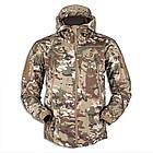 """🔥 Куртка Soft Shell """"ESDY. TAC-105"""" - Multicam (непромокаемая куртка, тактическая нацгвардии, зсу, военная), фото 5"""
