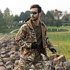 """🔥 Куртка Soft Shell """"ESDY. TAC-105"""" - Multicam (непромокаемая куртка, тактическая нацгвардии, зсу, военная), фото 7"""