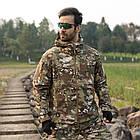 """🔥 Куртка Soft Shell """"ESDY. TAC-105"""" - Multicam (непромокаемая куртка, тактическая нацгвардии, зсу, военная), фото 6"""