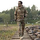 """🔥 Куртка Soft Shell """"ESDY. TAC-105"""" - Multicam (непромокаемая куртка, тактическая нацгвардии, зсу, военная), фото 9"""