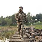 """🔥 Куртка Soft Shell """"ESDY. TAC-105"""" - Multicam (непромокаемая куртка, тактическая нацгвардии, зсу, военная), фото 8"""