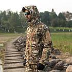 """🔥 Куртка Soft Shell """"ESDY. TAC-105"""" - Multicam (непромокаемая куртка, тактическая нацгвардии, зсу, военная), фото 10"""