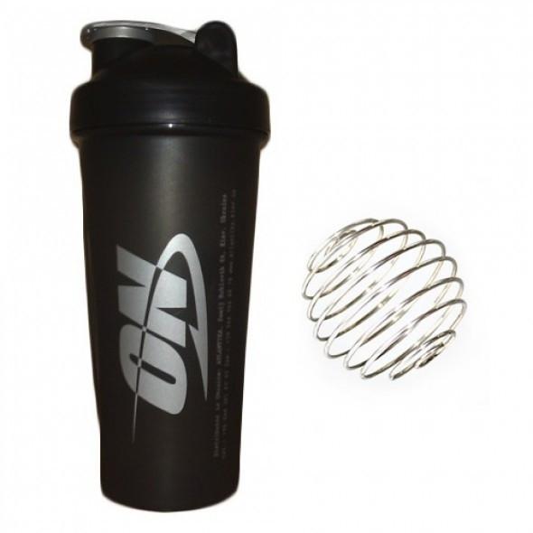 Шейкер Optimum Nutrition Shaker with metal ball (600 мл) Оригінал! (335686)