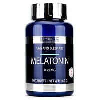 Снодійне Scitec Essentials Melatonin 0.95 (90 таблеток)