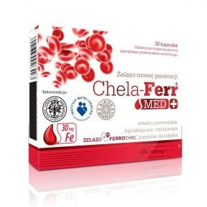Минеральный комплекс Olimp Labs Chela-Ferr Med + (30 капс)