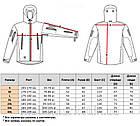 """🔥 Куртка Soft Shell """"ESDY. TAC-105"""" - Multicam (непромокаемая куртка, тактическая нацгвардии, зсу, военная), фото 4"""
