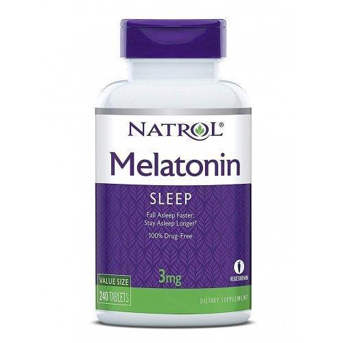 Витамины и минералы Natrol Melatonin 3 мг (60 таб)