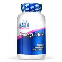 Рыбий жир HAYA LABS Omega 3-6-9 (100 капс)