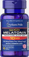 Снодійне Puritan's Pride Quick Dissolve Melatonin 10 мг Flavor (90 таб)