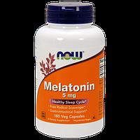Снодійне NOW Melatonin 5 mg (180 кап)