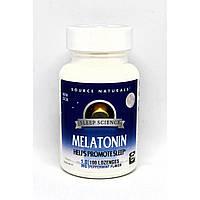 Снодійне Source Naturals Sleep Science Melatonin 1 мг (100 таблеток)