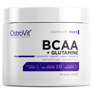 Амінокислоти OstroVit BCAA Glutamine (200 г)