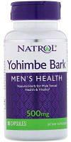 Стимулятор тестостерону Natrol Yohimbe Bark 500 мг (90 капс)