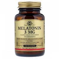 Снодійне Solgar Melatonin 3 мг (120 жувальних таблеток)