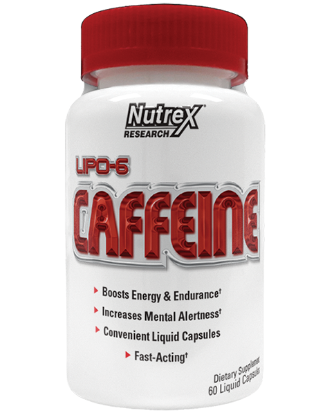 Жиросжигатель Nutrex Lipo 6 Caffeine (60 капс)