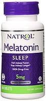 Снодійне Natrol Melatonin Time Release (5мг) (100 таб)