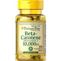 Витаминно-минеральный комплекс Puritan's Pride Beta-Carotene 10,000 МЕ (100 капс)