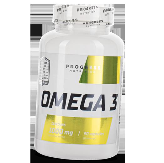 Рыбий жир Progress Nutrition Omega 3 (90 капс)