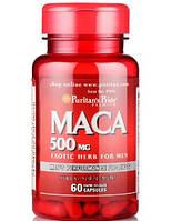 Предтренировочный комплекс Puritan's Pride Maca 500 мг (60 капс)