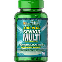 Вітамінно-мінеральний комплекс Puritan's Pride ABC Senior Plus Multivitamin Multi-Mineral Formula (120 кап)