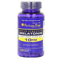 Снодійне Puritan's Pride Melatonin 10 мг (120 таб)