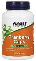 Витамины и минералы NOW Foods Cranberry Caps (100 вегетарианские капсулы)