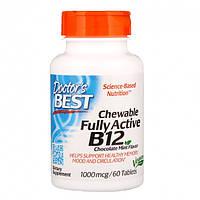 Аминокислоты Doctor's Best Best Fully Active B12 1500 мкг (60 капс)