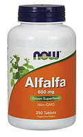 Люцерна NOW Foods Alfalfa (650 мг) (250 таб)
