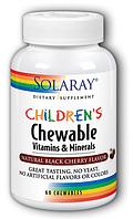 Вітаміни для дітей Solaray Childrens Vitamins & Minerals (60 таб)