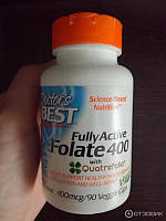Фолат Doctor's s BEST Folate 400 Fully Active (90 вег.капс)
