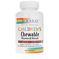 Вітаміни для дітей Solaray Childrens Vitamins & Minerals (120 таб)