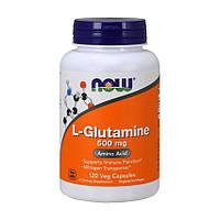 Глютамин NOW Foods L-GLUTAMINE 500 мг (120 капс)