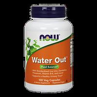 Препарат для поддержания мочевой системы NOW Water Out (100 капс)