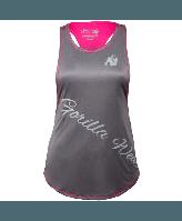 Майка Gorilla Wear Florida Stringer Tank Top Gray/Pink