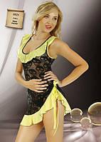 Гипюровая ночная сорочка короткая Jasmin 1625