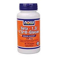 Препарат для укрепления иммунитета NOW Foods Beta 1,3/1,6 Glucan (90 капс)