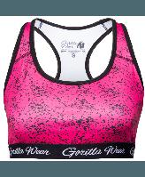 Топ Gorilla Wear Hanna Sports Bra Black/Pink
