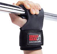 Лямки Gorilla Wear Lifting Grips Black Знижка! (229204)