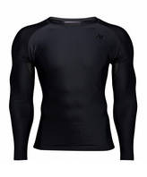 Футболка з довгим рукавом Gorilla Wear Hayden Compression Longsleeve Black/Black