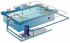 Закладные. Оборудование для подачи и слива воды в бассейне