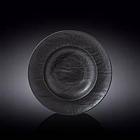 Wilmax тарілка глибока Slatestone Black 350мл d25,5 см фарфор (661130 WL)