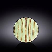 Тарелка десертная Wilmax Scratch.Pistachio d18 см фарфор (668111 WL)