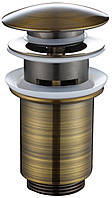 Донный клапан автомат KAISER 8036 Antique