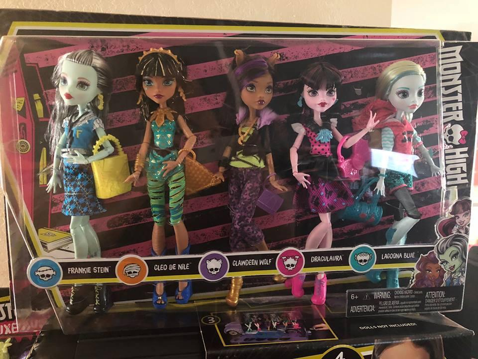 Набор 5 кукол Монстер Хай Monster High Best Ghoulfriends Signature Look Core Cleo клео клодин лагуна френки