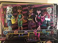 Набор 5 кукол Монстер Хай Monster High Best Ghoulfriends Signature Look Core Cleo клео клодин лагуна френки, фото 1